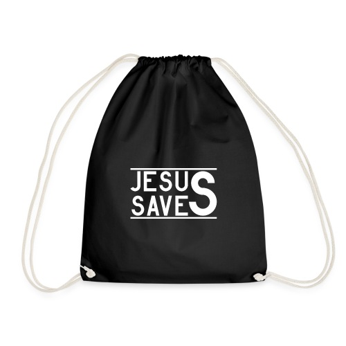 Jesus Saves - Turnbeutel