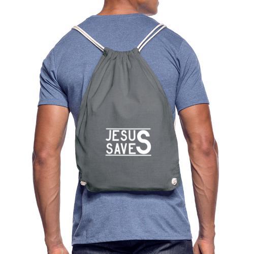 Jesus Saves - Turnbeutel