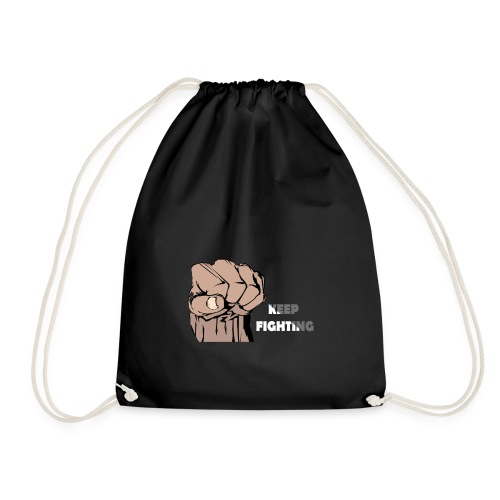 Keep Fighting - Drawstring Bag