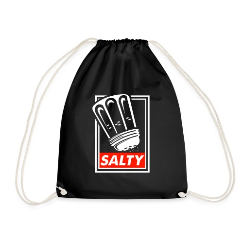 Salty white - Drawstring Bag