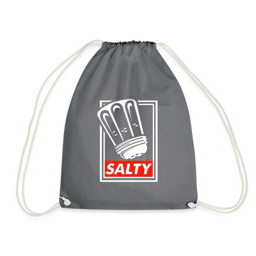 Salty white - Drawstring Bag