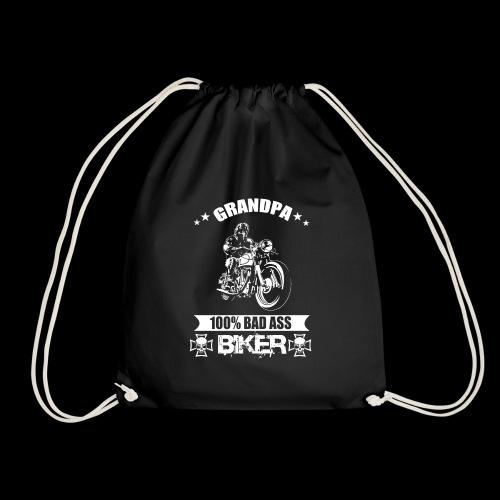 Motorrad Opa Geschenk T-Shirt - Turnbeutel