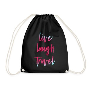 Live Laugh Travel - Turnbeutel
