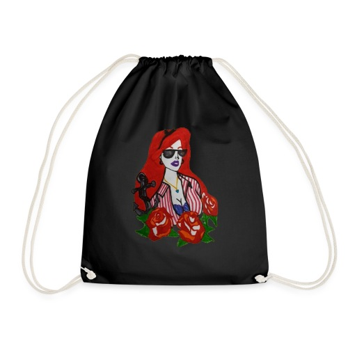 Punked Ariel - Drawstring Bag