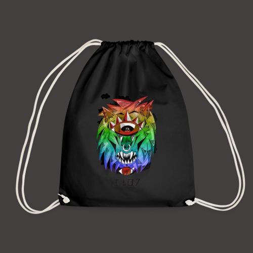 lion multi-color - Sac de sport léger