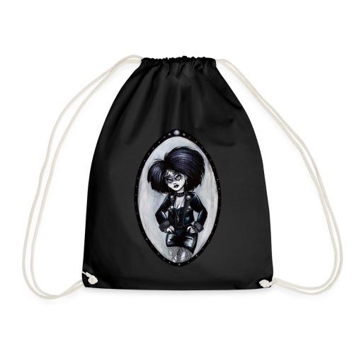 Trad Goth Art by E. R. Whittingham - Drawstring Bag