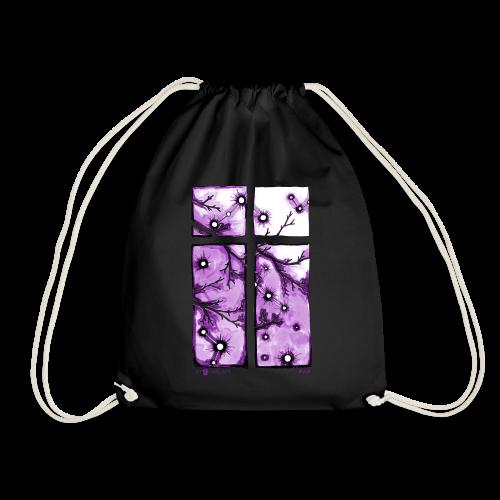 Für immer und ein Tag (violett) - Turnbeutel