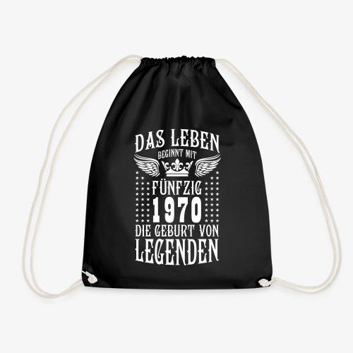 Das Leben beginnt mit 50 Geburt von Legenden 1970 - Turnbeutel