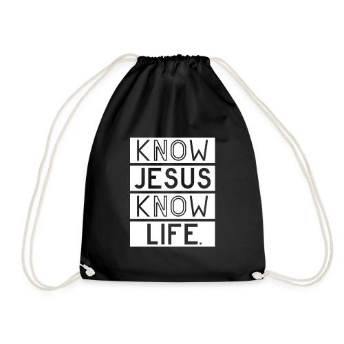 Know Jesus Know Life - Turnbeutel