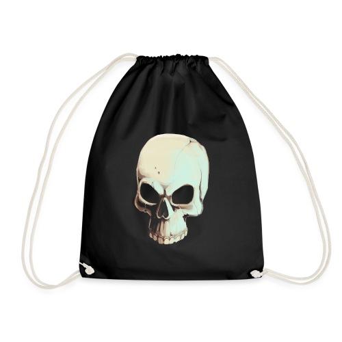 Light Alpha Cranium - Drawstring Bag