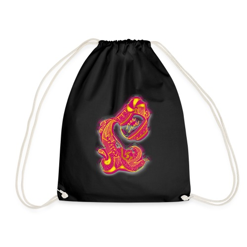 Aquarius Sign Water Vase - Drawstring Bag