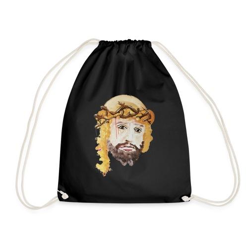 hol jesus visite trans - Drawstring Bag