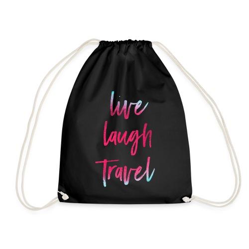 Live Laugh Travel - Turnbeutel