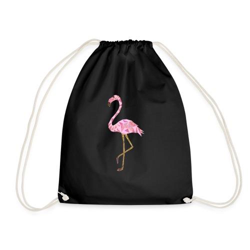 Flamingo triangel - Turnbeutel