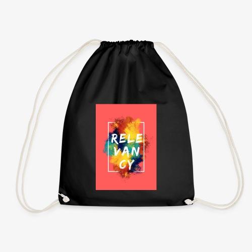 Red - Drawstring Bag