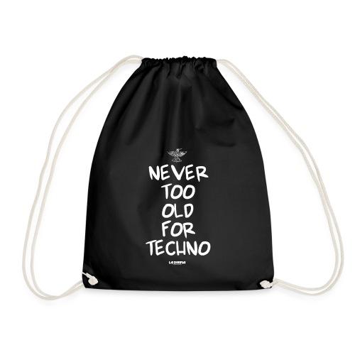 NEVER TOO OLD - Drawstring Bag