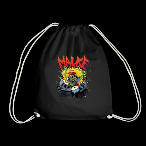 Malke - Man Premium White - Monster - Black - Mochila saco