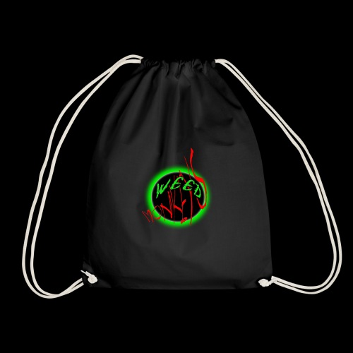 Weed Monkeys Logo - Drawstring Bag