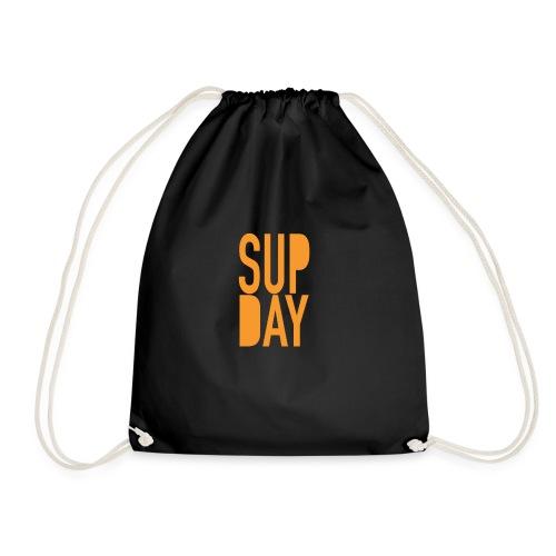 supday_apparel_orange - Gymtas