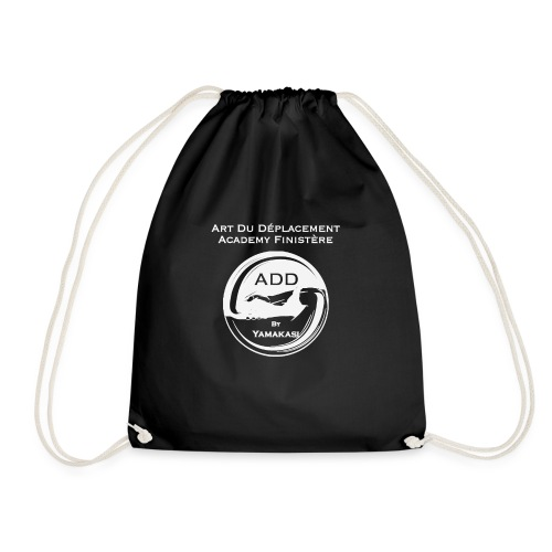 Logo grand DOS Blanc - Sac de sport léger