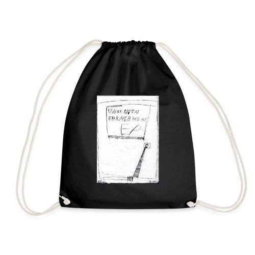 unbequem fernsehen - Drawstring Bag
