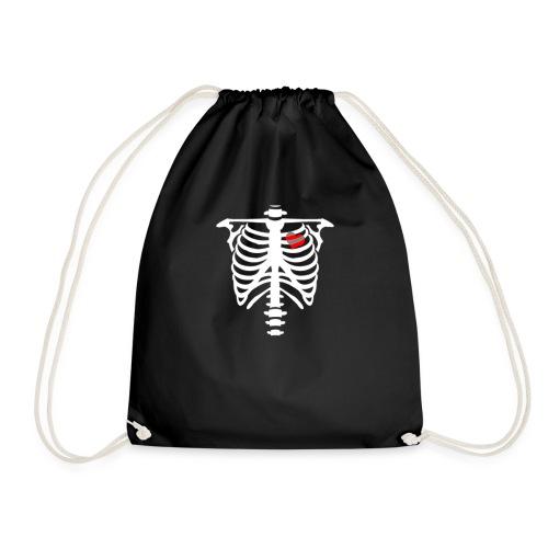 skull heart - Sac de sport léger