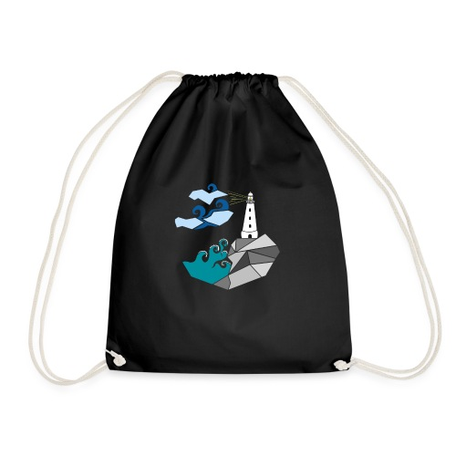 lighthouse - Drawstring Bag