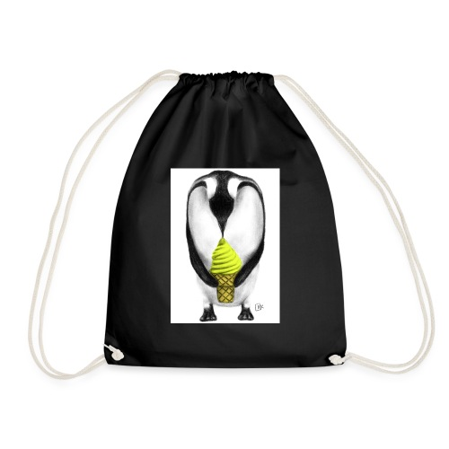 Penguin Adult - Drawstring Bag