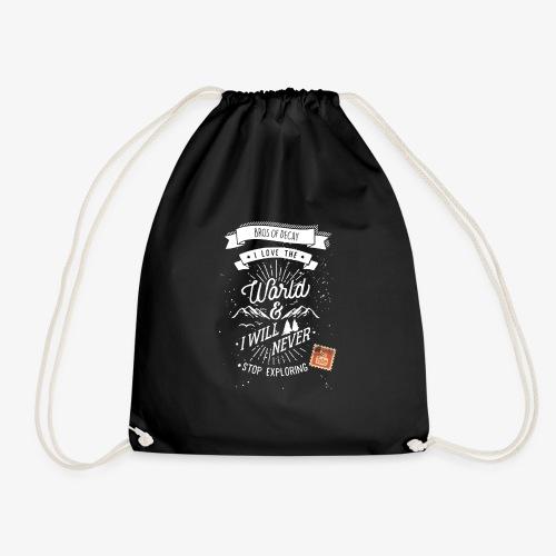 NEVERSTOPEXPLORING1 - Drawstring Bag
