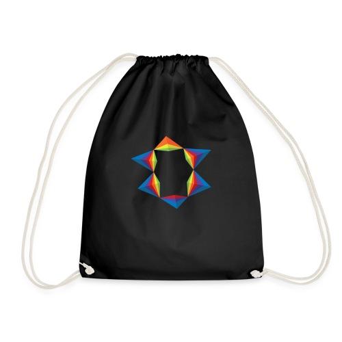 rainbow-geometric-1 - Sac de sport léger