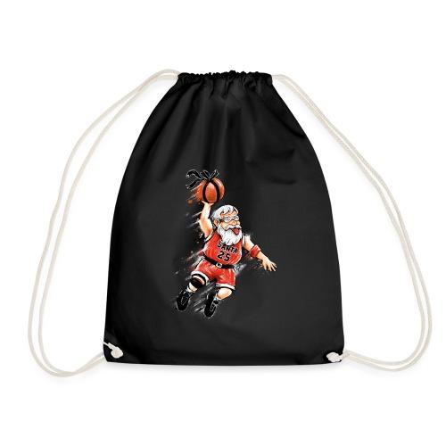 Santa Dunk - Drawstring Bag