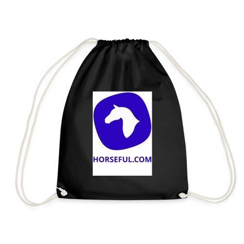 Horseful.com - Logo - Turnbeutel