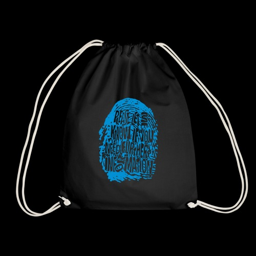 Fingerprint DNA (blue) - Turnbeutel
