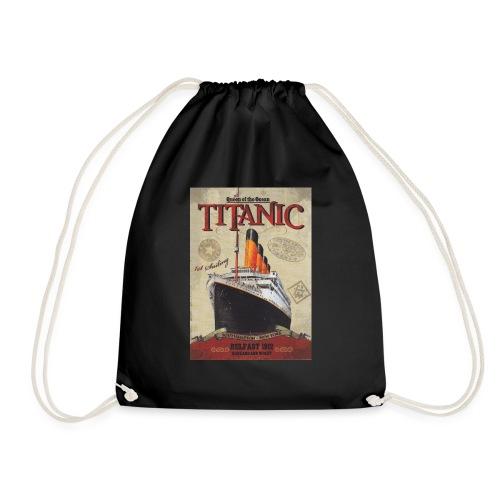 Over the seas - Drawstring Bag