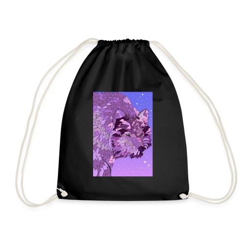 le loup violet - Sac de sport léger