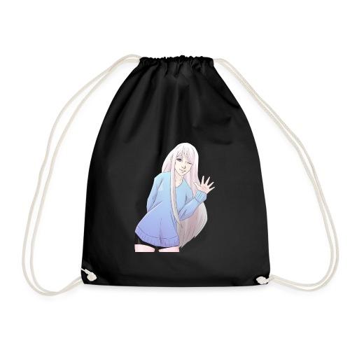 Anime Girl Wave - Drawstring Bag