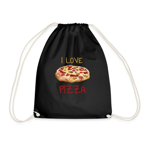 I love Pizza - Turnbeutel
