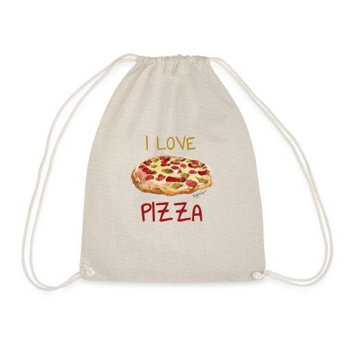 I love Pizza - Turnbeutel