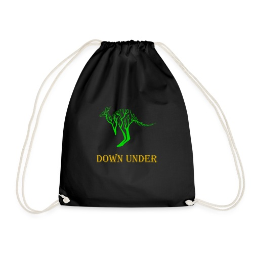 Down Under Kangaroo - Turnbeutel