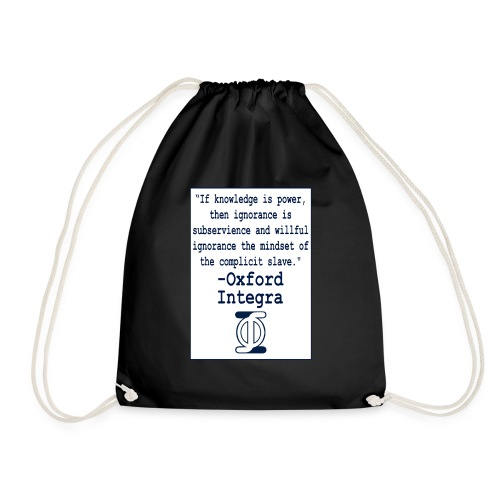 Oxford Integra - Drawstring Bag