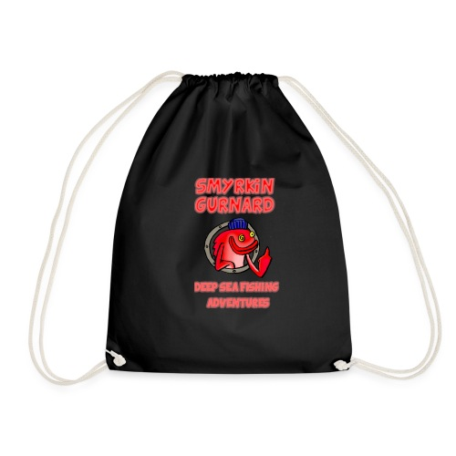 FISH T SHIRT2 - Drawstring Bag