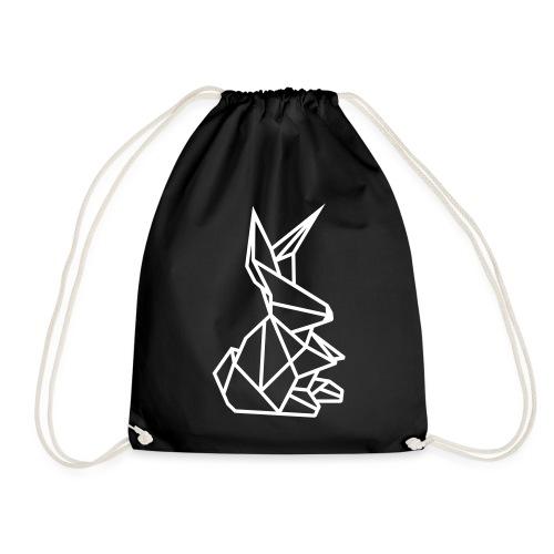 Origami Kunst Hase Zwergkaninchen Kaninchen in - Turnbeutel