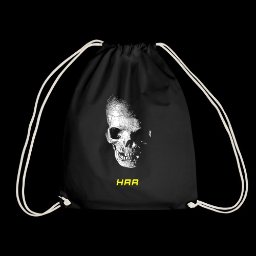 HRR SKULL FRONT - Drawstring Bag