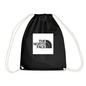the north face logo - Drawstring Bag
