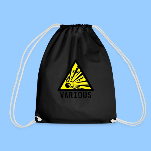 VariousExplosions Triangle (2 colour) - Drawstring Bag