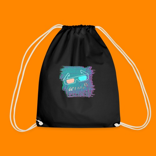 3D Summer - Drawstring Bag