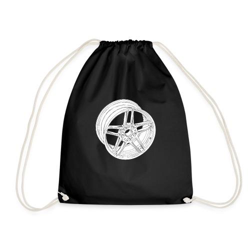 Wheel - Drawstring Bag