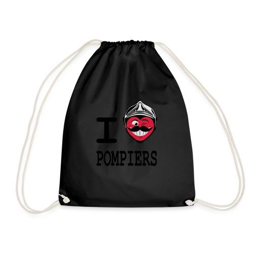 i_love_pompier_4 - Sac de sport léger