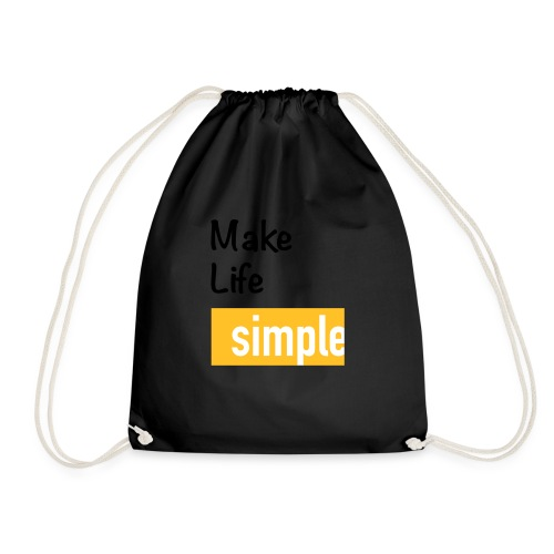 Make Life Simple - Sac de sport léger