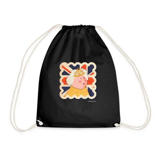 The Queen - Drawstring Bag